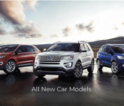 All new Ford Car Models
